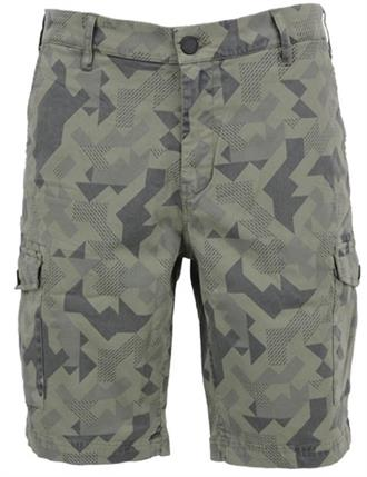 Noize Short. printed. camouflage pri 4676210-00 053