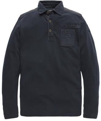 PME Legend Long sleeve polo rugged pique PPS187852 9141