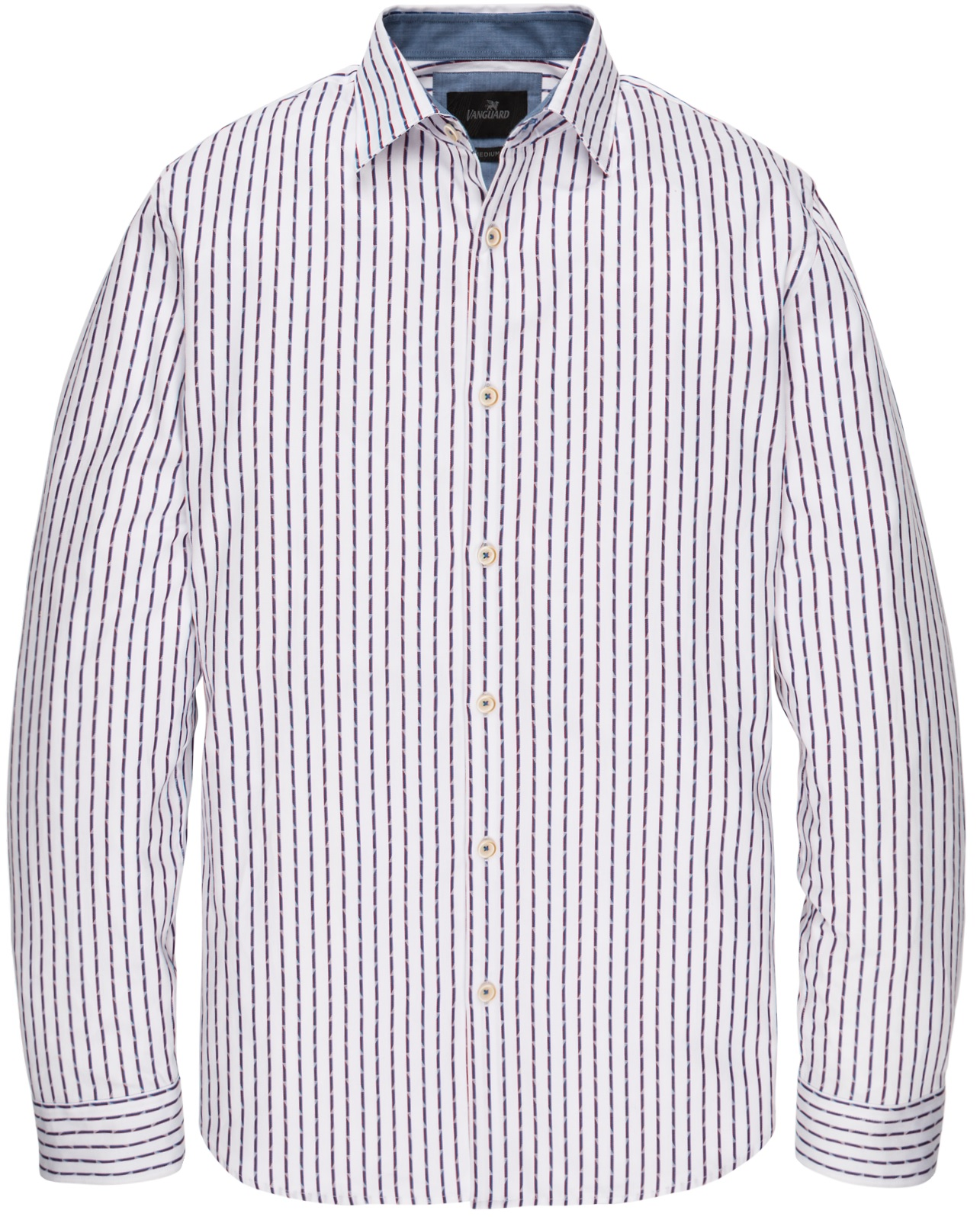 Vanguard Shirt stripe with VSI201210-7003